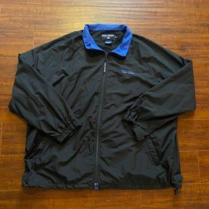 Vintage 90s Polo Sport Ralph Lauren Black Jacket